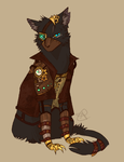 Steampunk AU. Scourge by SsilverBeeze
