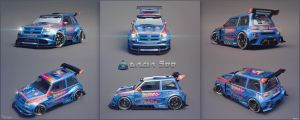 Dacia 500 extreme tuning 15 by cipriany
