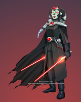Darth Onzi by SpacelingArt