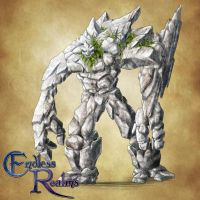 Endless Realms bestiary - Hill Giant by jocarra
