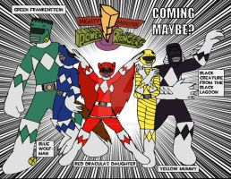Mighty Monster Power Rangers by Selecthumor
