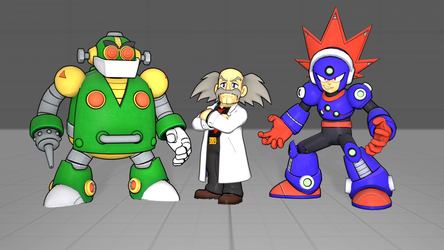 Mega man 11 models pack by 8Yaron8