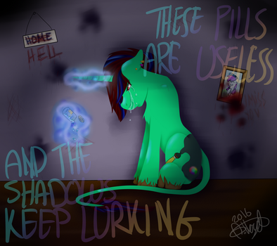 These Pills Aren't Working by alloyd-sketches