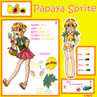 Aya the Papaya by Crysums