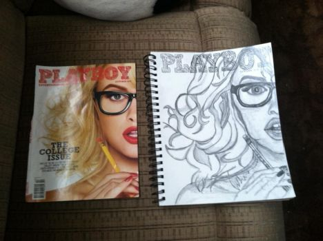 My Rendition Of Playboy October by itchyfoot420