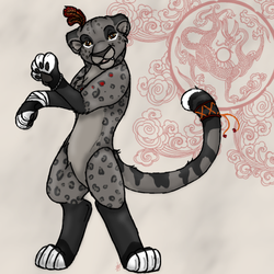 Gift: the new fursona by yammyqueen
