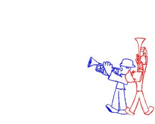 Trumpet Players by Islemaster