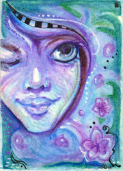 Faerie Blessings ACEO by shidonii