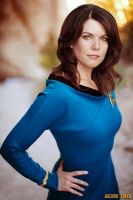 Lauren Graham Celebrity  Star Trek by gazomg