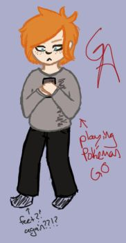Tablet Test #2 (me, but better(-ish??)) by ginger--ale