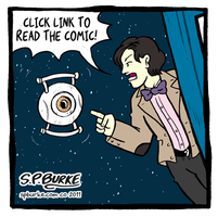 Doctor Who meets Portal 2 by spburke