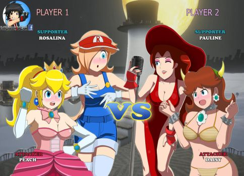 Nintendo Heroines: Tag Team Frenzy Version by Patdarux