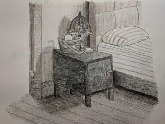 Nightstand Still Life by Deli-Sammich