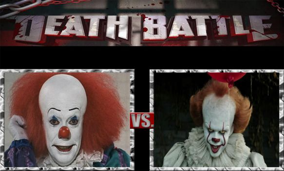 Death Battle Ideas 225 Pennywise Vs Pennywise by kouliousis