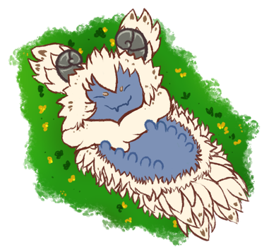 Gift - A Fluff in Spring by Grifferie