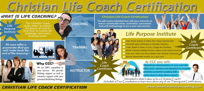 Christian Life Coach Certification by ChristianCoaching