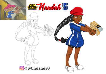 Numbuh 5 by Bonezkd