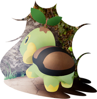 Turtwig and background