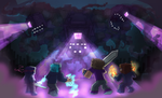 COMM - The CREW vs Wither STORM by Cocololzzz