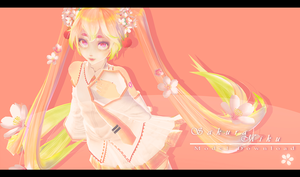 .: TDA Sakura Miku - MODEL DOWNLOAD :. by Alice-Hato