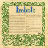 Imbolc,  Book Of Shadows by Brightstone