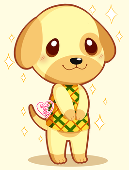 Animal Crossing New Leaf: Goldie ~ by Haato-No-Koe