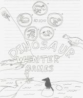 Dinosaur Winter Games by Albertonykus