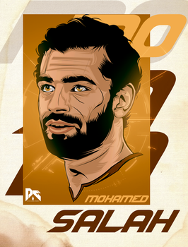 Mohamed Salah Vector Art by workoutf