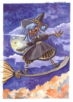 Little Witch by mazosia