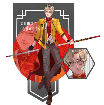 [Auction CLOSED] School Delinquent I by CemarAdopts