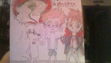 PEABODY AND SHERMAN METTS JAY. by drippin99