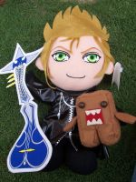 Demyx and Domo kun plushies by sven-is-kool