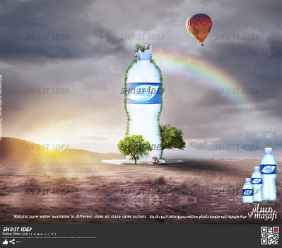 Poster Masafi Water by ShootIdea