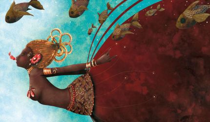 Oshun african godess of love by cathydelanssay