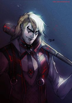 Male!Harley Quinn (Batman) by MabyMin