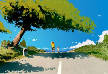 Up Hill! by PascalCampion
