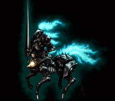 Undead Horseman by Woodvile