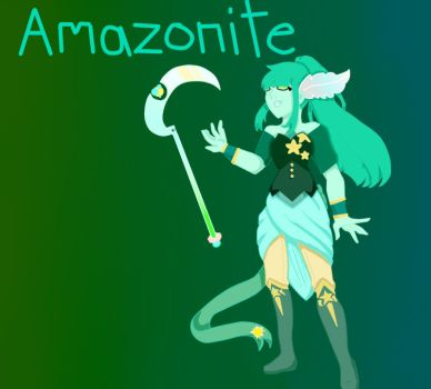 Amazonite by pinkiecitrine