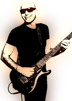 joe satriani by iamwilly