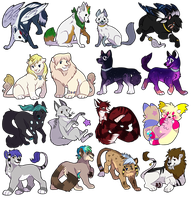 Never-ending icons by Keshi-Commish