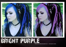 Bright purple PS action by missrocketqueen