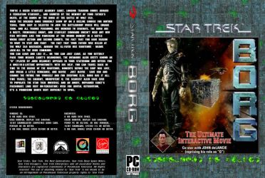 Custom Star Trek Borg Cover by Darkwolf-Howling
