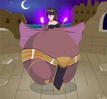 Tharja's new Hex by The-Silver-Soldier