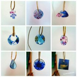 necklaces (resin) by Nemori-Anderswo
