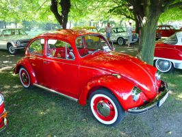 Red VW by Poppy-CZ