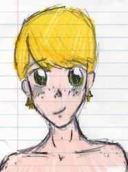 Cutesy blonde boy by Natomicron