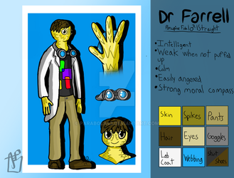 Farrell's Ref Sheet!! by Parabola43