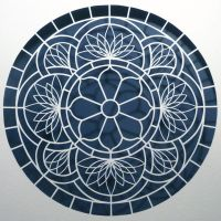 Paper Cuts...Lotus Window by ciomaria