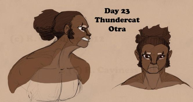 Day 23_Thundercat-Otra by WimpleToad
