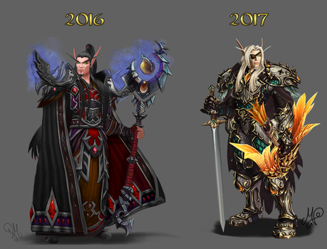 One year of heavy armor stuff! 2016 - 2017 by SkullCandister